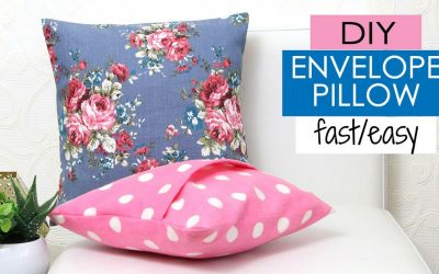 Do It Yourself – Tutorials – DIY Cushion Covers & Pillow Covers   How to Make a Pillow REALLY fast