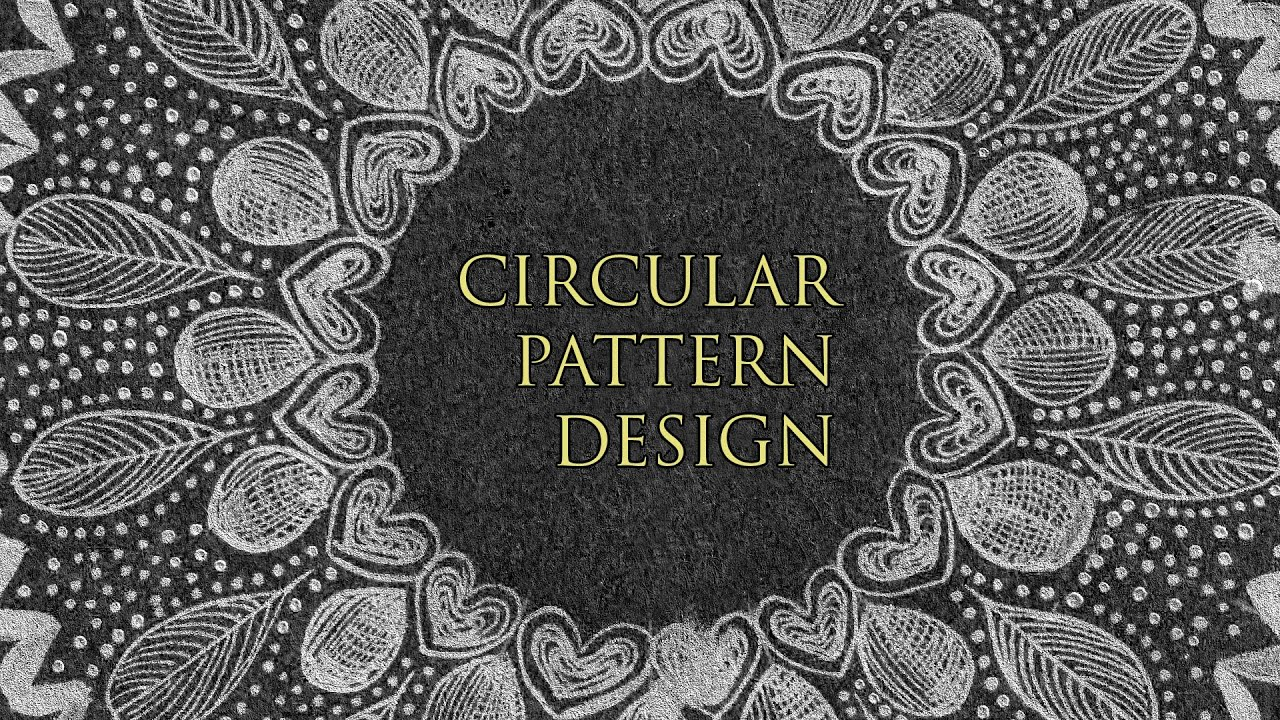 Design your own circular patterns!