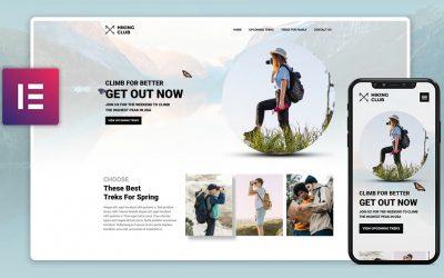 Do It Yourself – Tutorials – Elementor Web Design Speed Art 2021 | Hiking Club