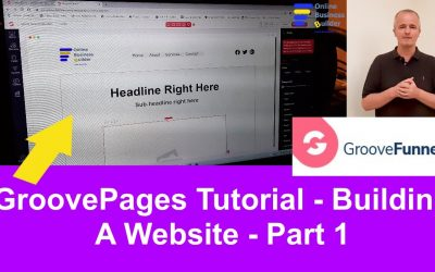 Do It Yourself – Tutorials – GroovePages Tutorial Part 1: How to build a free website using GroovePages. Make Money Online