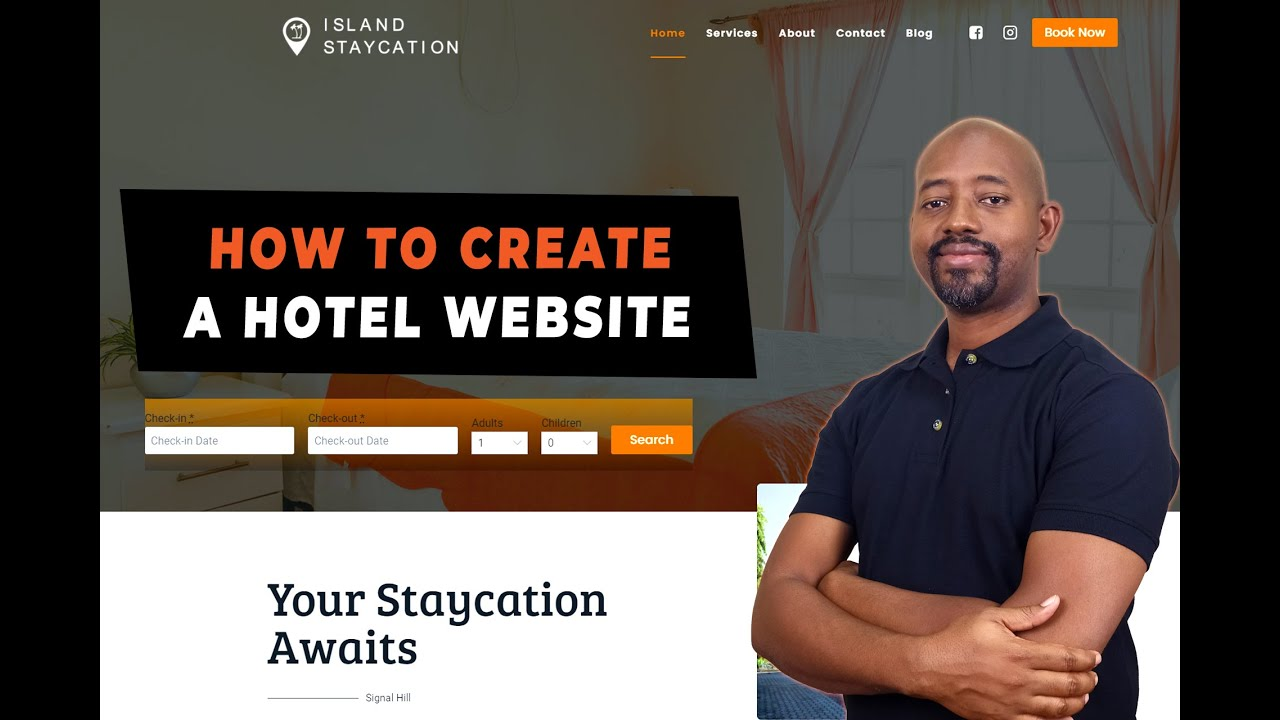 HOTEL BOOKING TUTORIAL 2021 | Build A Hotel Booking Website | Commission Free