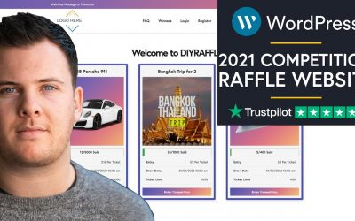 Do It Yourself – Tutorials – How To Create A Raffle / Competition Website With WordPress 2021 Step By Step – (Easy For Beginners)