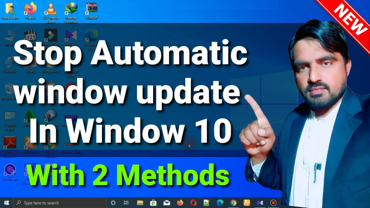 How To Stop Windows 10 From Automatically Downloading & Installing Updates | #windows10updatemhindi,
