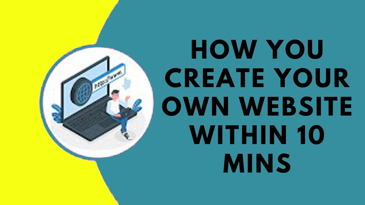 How You Create Your Own Website Within 10 Mins - Bluehost WordPress Tutorial