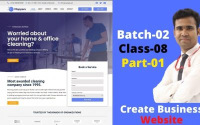 Do It Yourself – Tutorials – How to Build A Professional Business Website In WordPress | Create Business Website |Class-9, Part-1