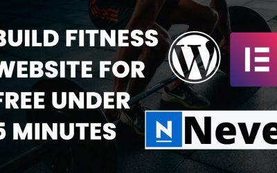 Do It Yourself – Tutorials – Learn how to build a wordpress website under 5 minutes   WordPress 2021 Tutorial