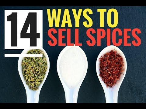 Spice Business Startup Tutorial [ 14 Ways To Sell Spices ] Selling Spices from home
