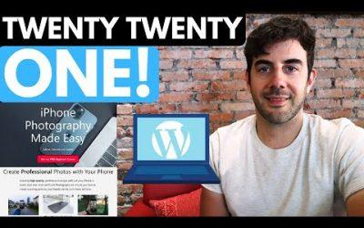 Do It Yourself – Tutorials – Twenty Twenty One Theme Tutorial – Create a Pro Website!