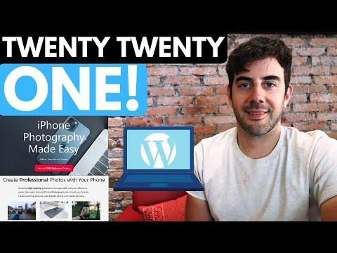 Twenty Twenty One Theme Tutorial - Create a Pro Website!