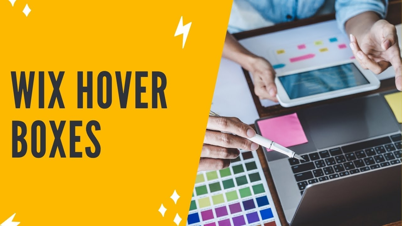 WIX HOVER BOX: How To Add A Hover Box In Wix
