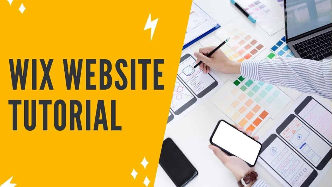 WIX WEBSITE TUTORIAL: How To Create A Website In Wix