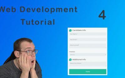 Do It Yourself – Tutorials – Web development tutorial for beginners   Create a Custom Form   HTML (2021)