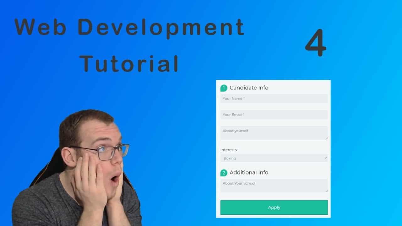 Web development tutorial for beginners | Create a Custom Form | HTML (2021)