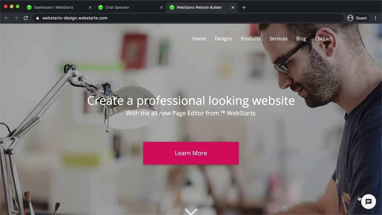 WebStarts Demo 2021