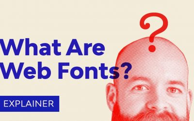Do It Yourself – Tutorials – What Are Web Fonts?