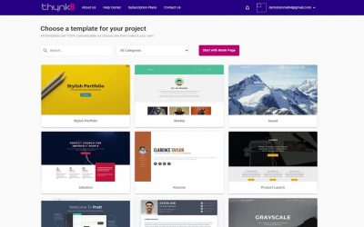 Do It Yourself – Tutorials – thynkB Tutorial #1 – How to get started, create a website & edit it, then publish it