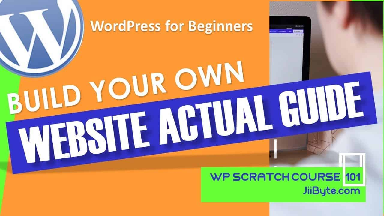Build Your Own Website | A Video Guide To WordPress | Tutorial Part 1