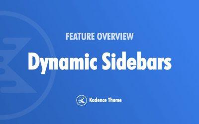 WordPress For Beginners – How To Add Dynamic Sidebars To Your WordPress Website Using Kadence Theme