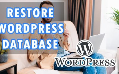 WordPress For Beginners – How To Restore Your WordPress Database On cPanel Tutorial