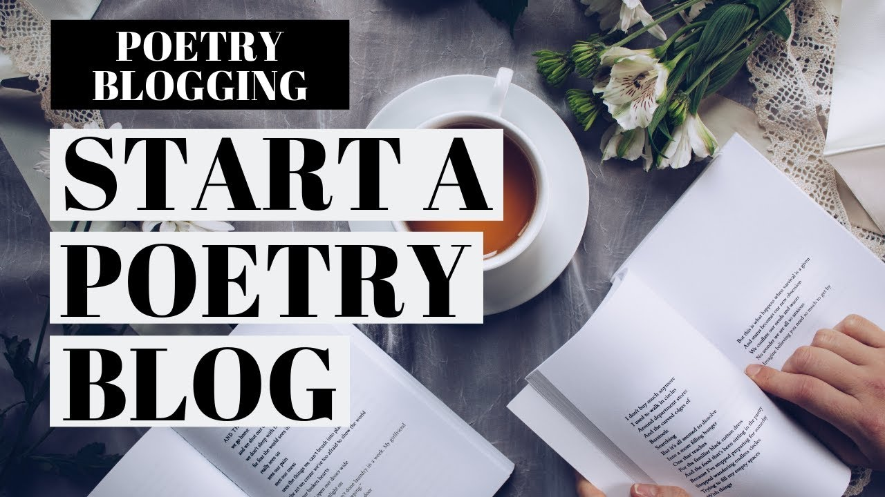 How To Start A Poetry Blog | Poetry Blog WordPress Tutorial