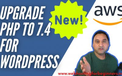 WordPress For Beginners – How To Update PHP for WordPress on AWS Lightsail Server