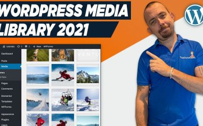 WordPress For Beginners – How To Use WordPress Media Library 2021 – WordPress For Beginners Tutorial