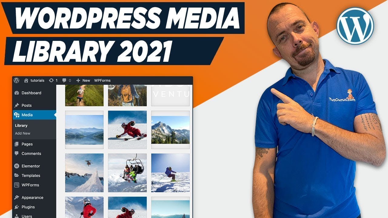 How To Use WordPress Media Library 2021 - WordPress For Beginners Tutorial