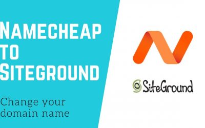 WordPress For Beginners – How to Change a Domain Name from Namecheap to Siteground – WordPress Tutorial