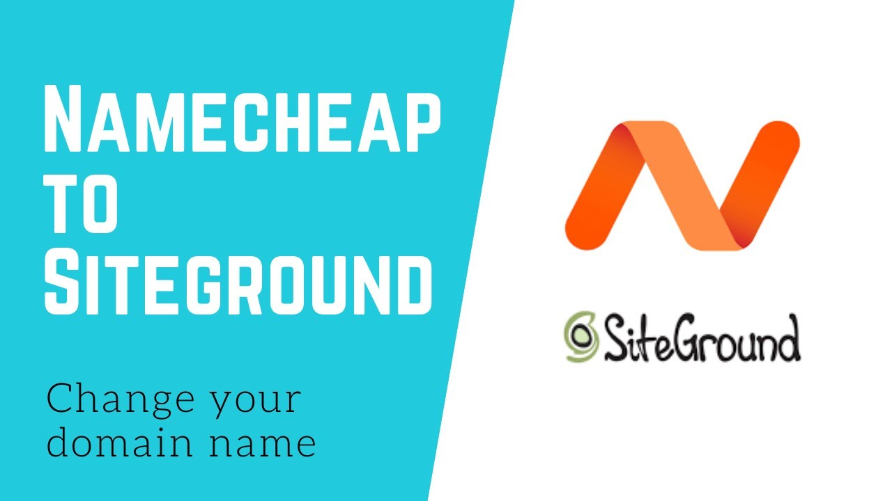 How to Change a Domain Name from Namecheap to Siteground - WordPress Tutorial