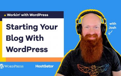 WordPress For Beginners – How to Create WordPress Blog Post – HostGator Tutorial