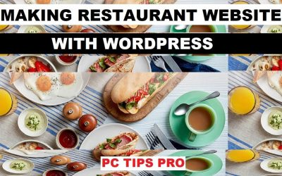 WordPress For Beginners – How to Make a Restaurant Website, Food Website With WordPress   No Coding Skills Needed