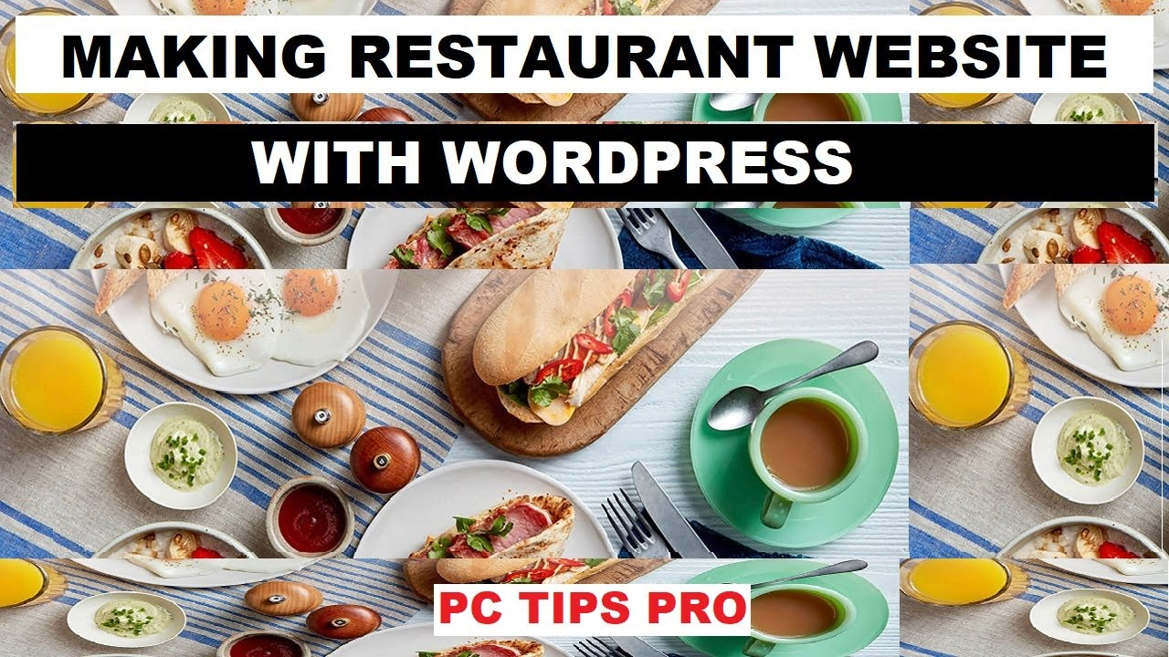 How to Make a Restaurant Website, Food Website With WordPress | No Coding Skills Needed