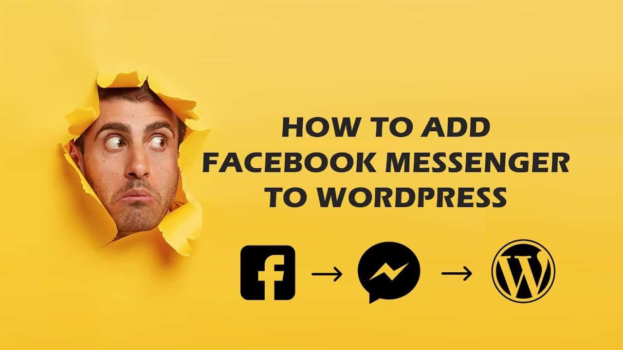 How to add Facebook Messenger to your WordPress Website | Beep Tech | 2021