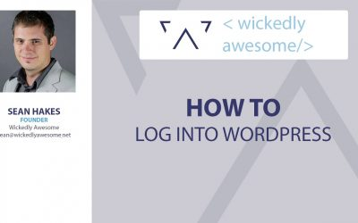 WordPress For Beginners – How to log into the WordPress Administrative Area | WordPress Tutorials | WordPress 101