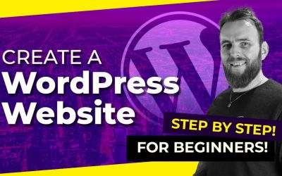 WordPress For Beginners – I create a Full WordPress Website  with Free Themes & Plugins (follow along tutorial!)
