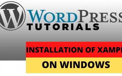 WordPress For Beginners – Installation of Xampp on Windows (Part 3)