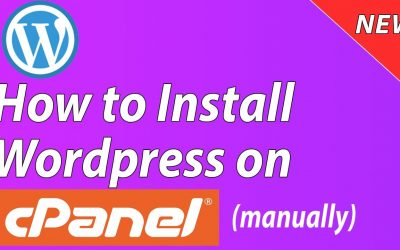 WordPress For Beginners – [NEW] How to Install WordPress on Cpanel Manually – Step by Step for Beginners