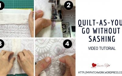 WordPress For Beginners – Quilt-as-you-go (QAYG) without sashing video tutorial