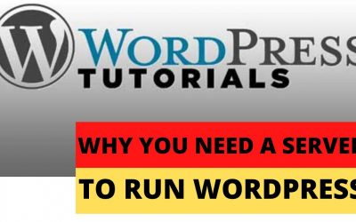 WordPress For Beginners – Why you need a server to run WordPress (Part 2)