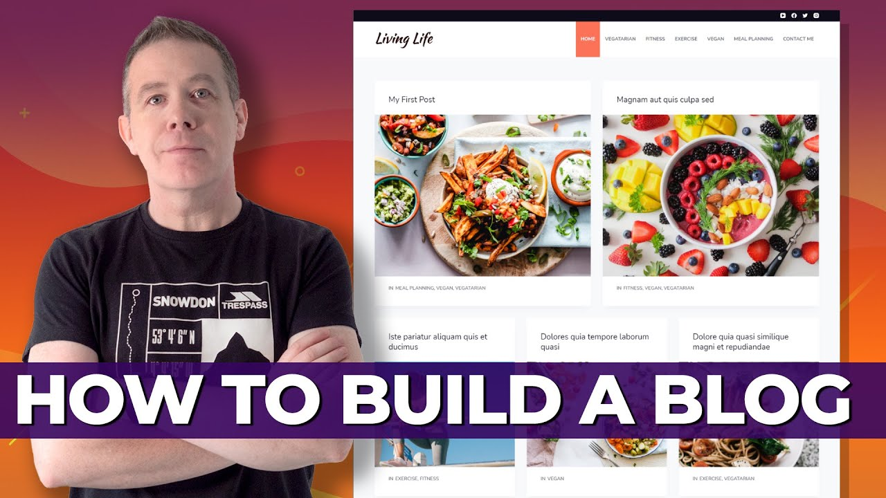 WordPress Blog Website Tutorial | Perfect For Beginners | All Free Tools