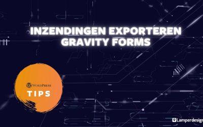 WordPress For Beginners – WordPress Tutorial #25: Gravity Forms inzendingen exporteren   WordPress Tips   Lamper Design