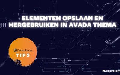 WordPress For Beginners – WordPress Tutorial #27: Avada thema blokken hergebruiken   Avada Tips   Lamper Design