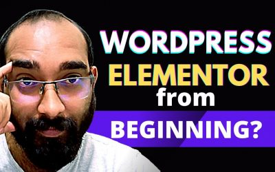 WordPress For Beginners – WordPress and Elementor Tutorials from the Beginning? Are you Interested?