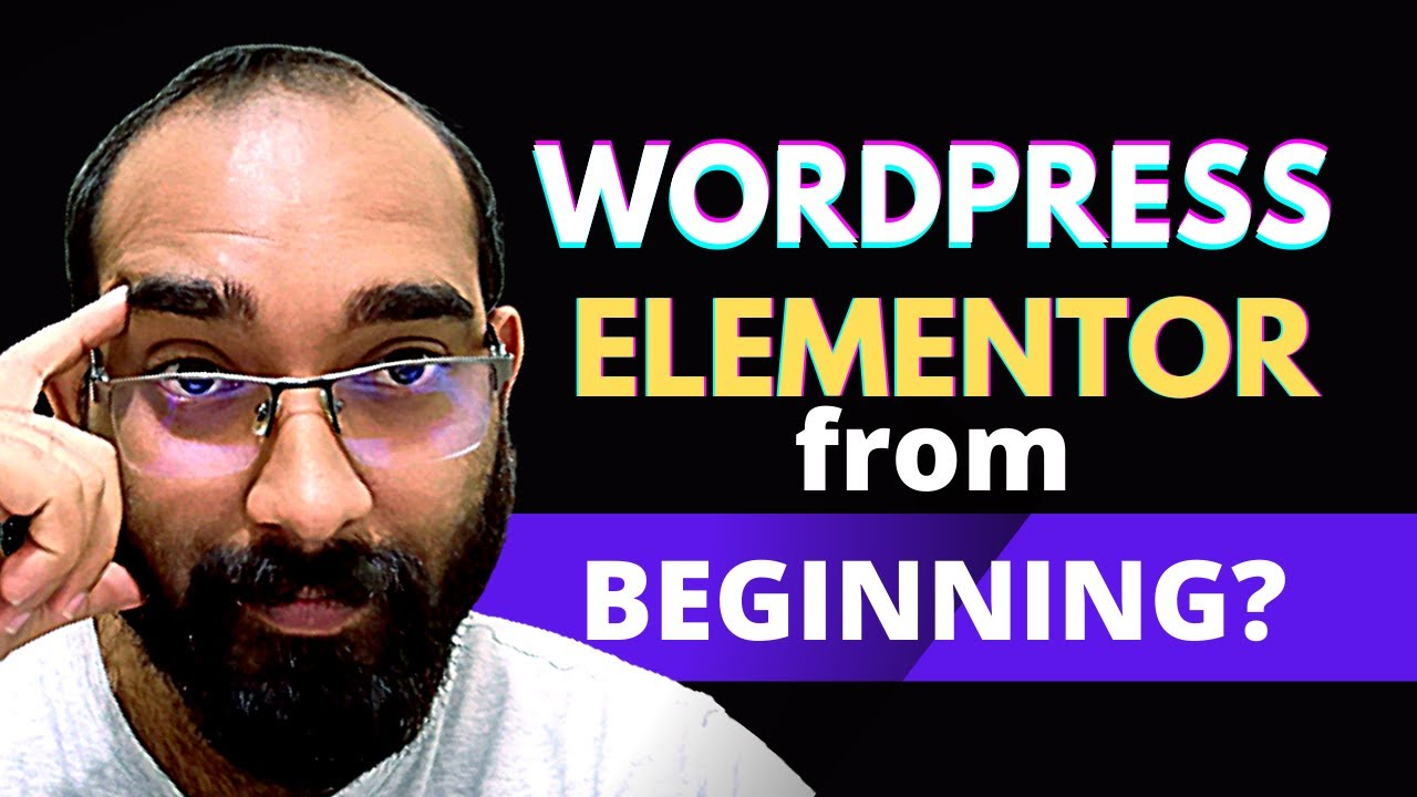 WordPress and Elementor Tutorials from the Beginning? Are you Interested?