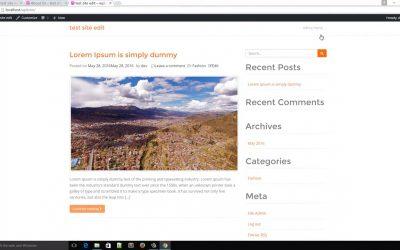 WordPress For Beginners – WordPress tutorial for beginners- wordpress tutorial for beginners | step-by-step create menu part 5