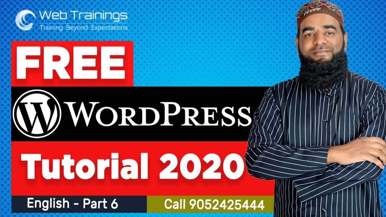 Wordpress Tutorial English - Plugins in WordPress - Part 6