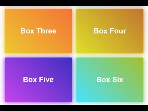 How to Make Gradient Box Shadow in HTML5 & CSS3 | With Source Code