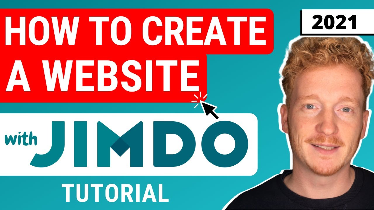 How to Make Your Own Website with Jimdo - Jimdo Website Builder Tutorial 2021