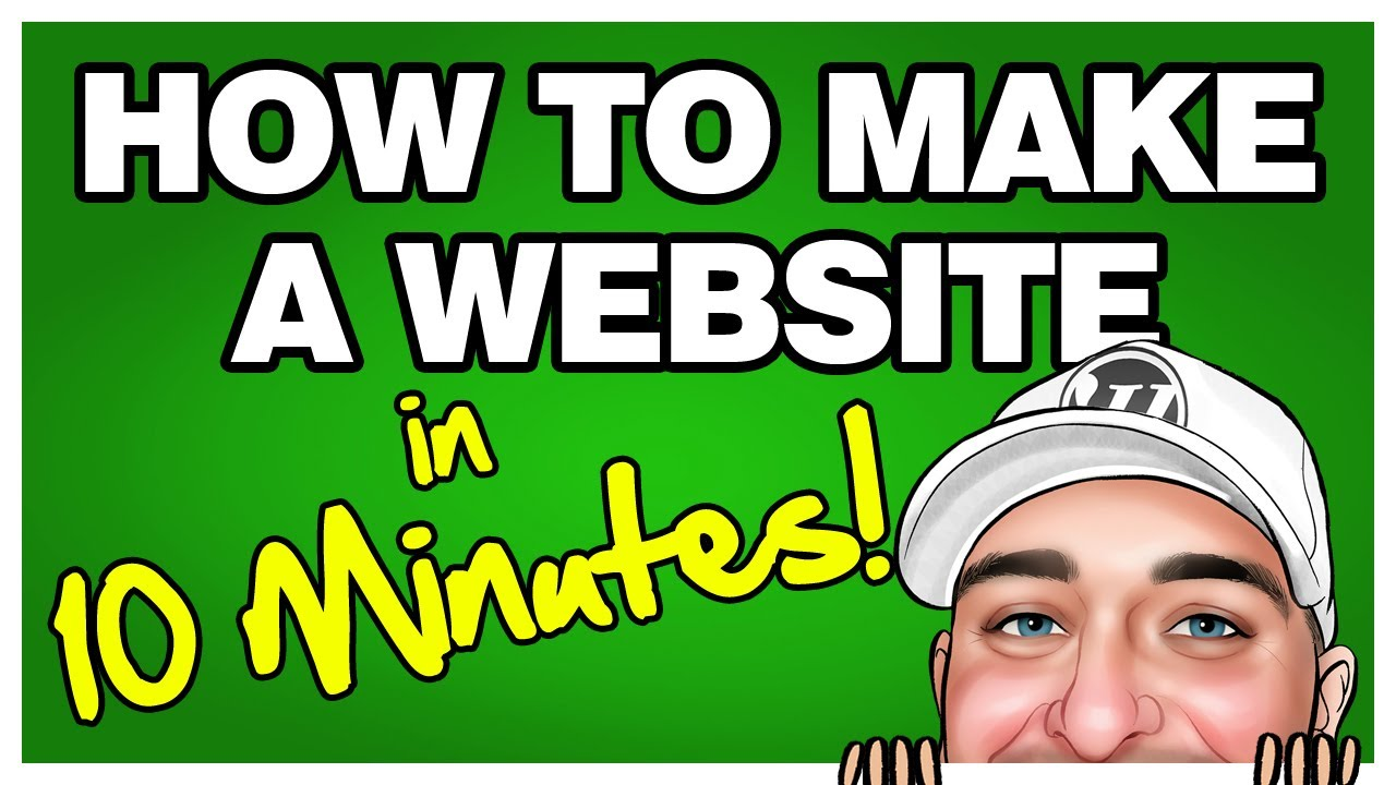 Make your own website in 10 minutes