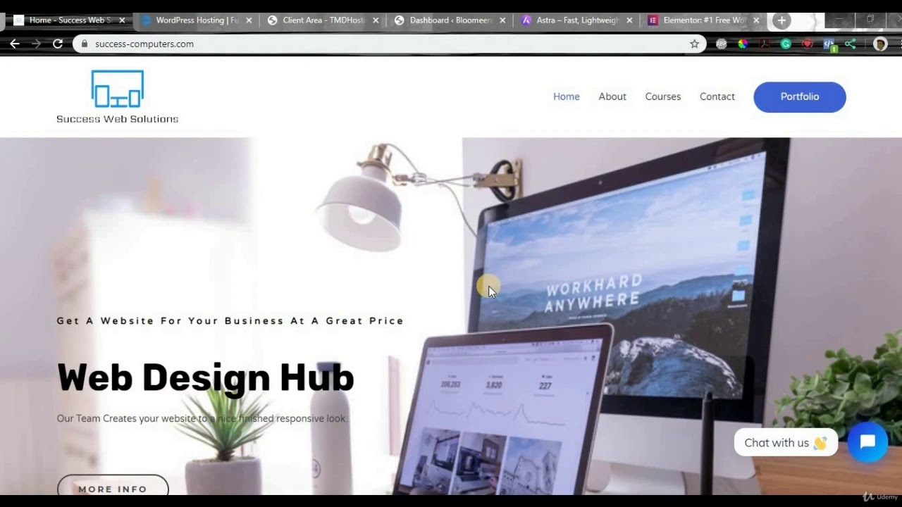 How to Make a Website 2021 WordPress Tutorial - Elementor - learn Web Design
